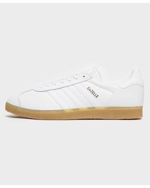 eab59216f63d Adidas Originals - White Gazelle for Men - Lyst ...