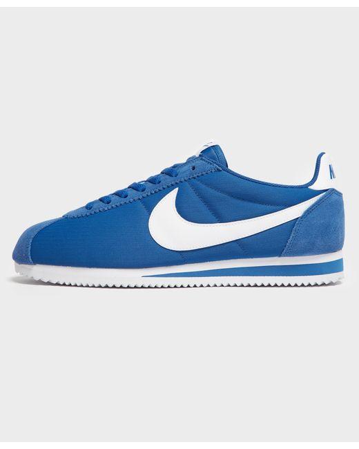 e2e758dd632e Lyst - Nike Cortez Nylon in Blue for Men - Save 44.44444444444444%