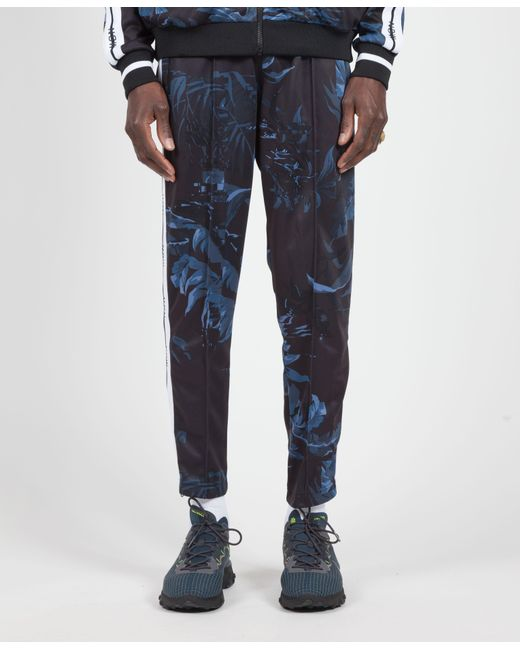 85a5f5bc2177 Nike - Blue Black dark Obsidian white Floral Nsw Tape Track Pant for Men ...