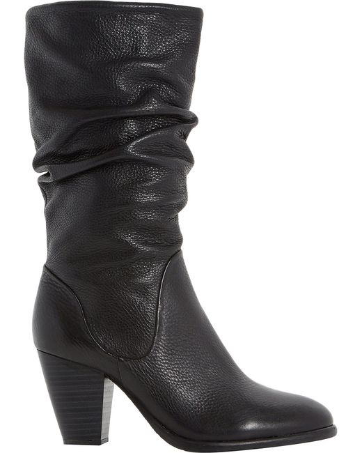Dune | Multicolor Rossy Leather Calf Boots | Lyst
