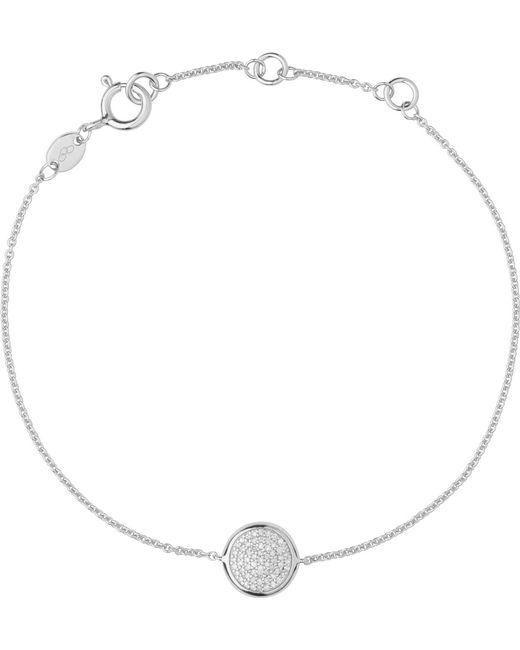 Links of London | Metallic Diamond Essentials Pave Sterling Silver Bracelet | Lyst