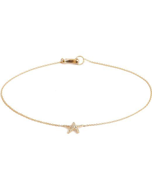 Annoushka | Metallic Love Diamonds 18ct Yellow-gold Starfish Bracelet | Lyst