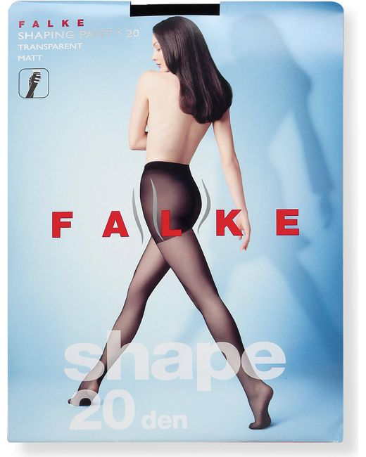 Falke - Black Shaping Panty 20 Denier Tights - Lyst