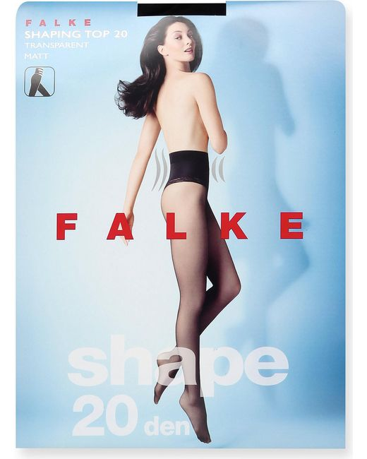 Falke - Black Shaping Top 20 Denier Tights - Lyst
