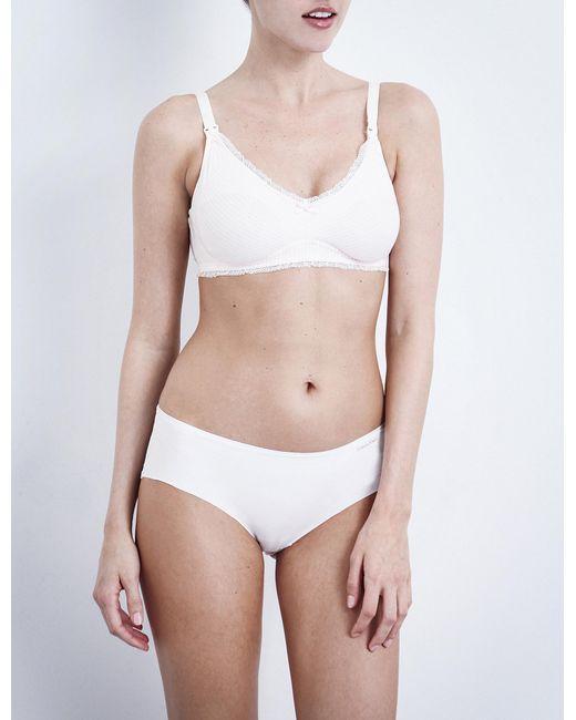 Heidi Klum - White Eloide Maternity Bra - Lyst