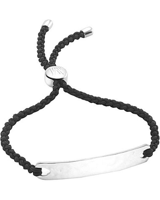 Monica Vinader - Metallic Havana Sterling Silver Friendship Bracelet - Lyst