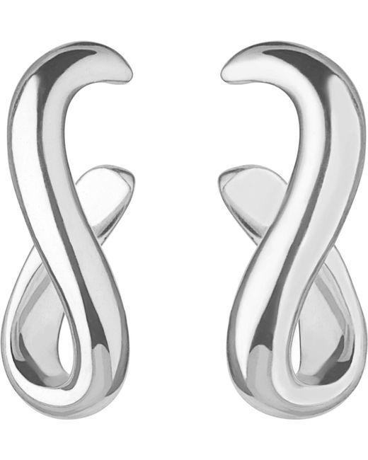 Links of London   Metallic Essentials Infinity Sterling Silver Earrings   Lyst