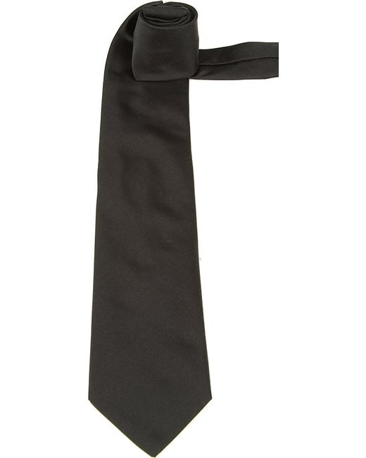 Lanvin | Black Silk Bowtie for Men | Lyst