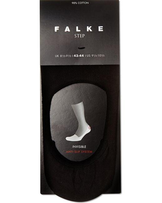Falke | Black Invisible Step Sock for Men | Lyst