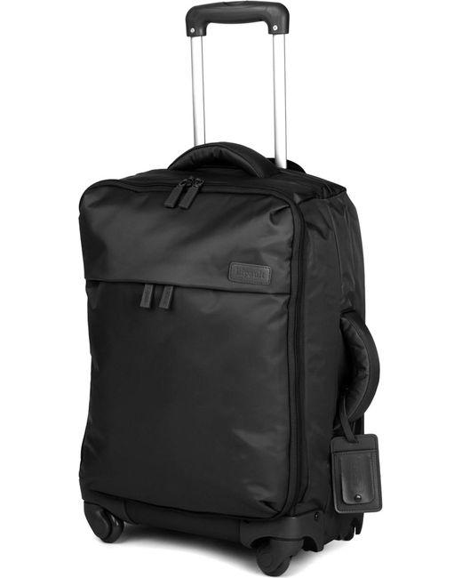Lipault - Black Original Plume Four-wheel Cabin Suitcase 55cm for Men - Lyst