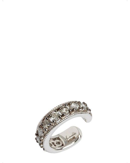 Annoushka - Metallic Dusty Diamonds 18ct White Gold And Grey Diamond Ear Cuff - Lyst