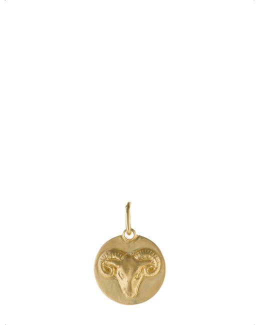 Annoushka   Aries 18ct Yellow Gold Pendant   Lyst