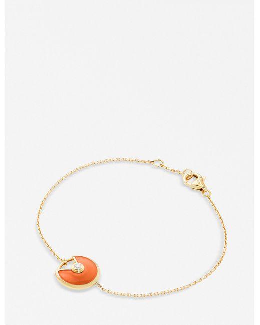 Cartier | Amulette De Pink-gold | Lyst