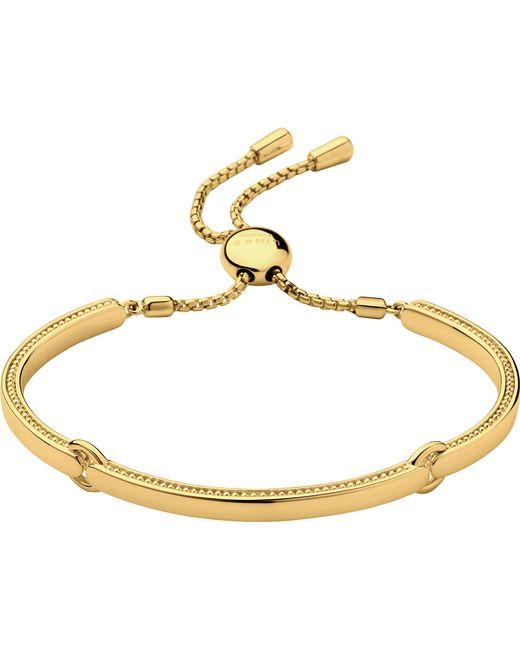 Links of London | Metallic Narrative 18ct Gold Vermeil Bracelet | Lyst