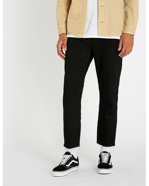 Neuw - Black Lou Slim-fit Skinny Cropped Jeans for Men - Lyst