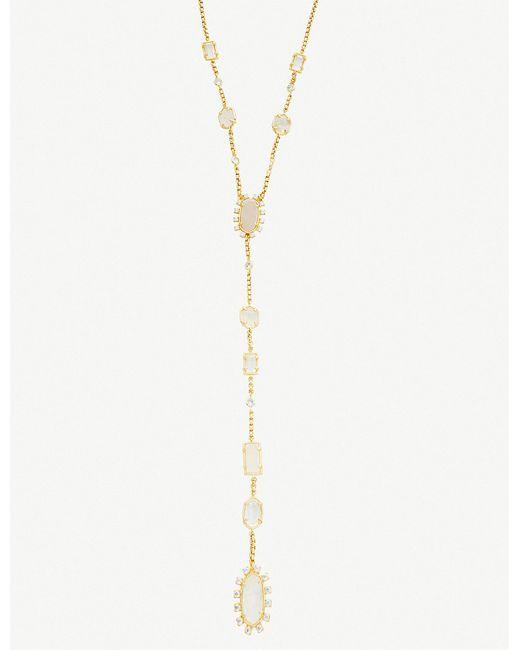 Kendra Scott - Metallic Liesl Y-necklace - Lyst