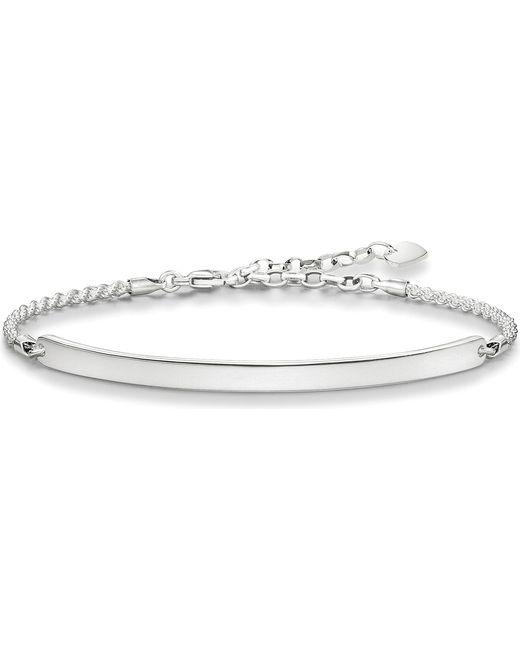 Thomas Sabo - Metallic Love Bridge Sterling Silver Bracelet - Lyst