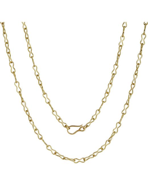 Annoushka   Classic Infinity Handmade 18ct Yellow-gold Chain Necklace   Lyst
