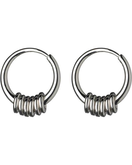 Links of London   Metallic Sweetie Sterling Silver Hoop Earrings   Lyst