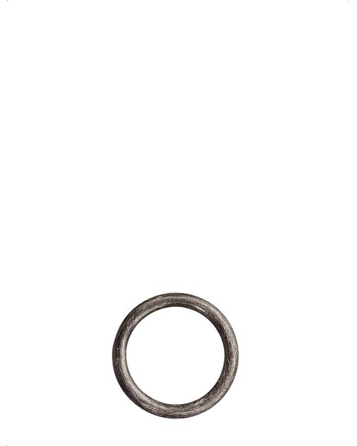 Annoushka - Metallic Hoopla 18ct White-gold Small Hoop Pendant - Lyst