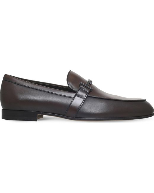 Tod's | Brown Leather Moccasins for Men | Lyst