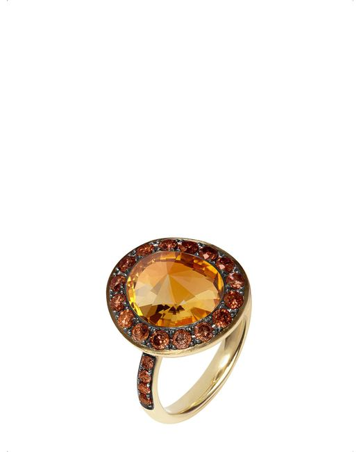 Annoushka - Orange Dusty Diamonds 18ct Yellow-gold - Lyst