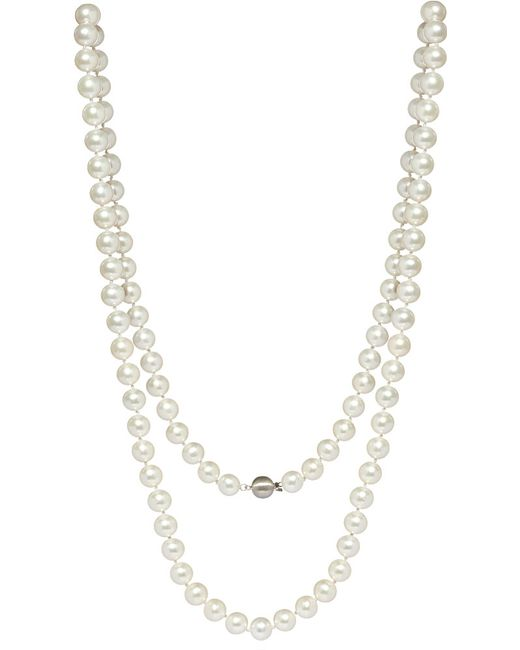 Annoushka | Classic 10mm Pearl And 18ct White-gold Necklace | Lyst
