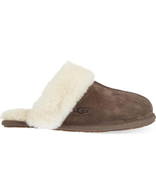 Ugg - Brown Scuffette Ii Slippers - Lyst