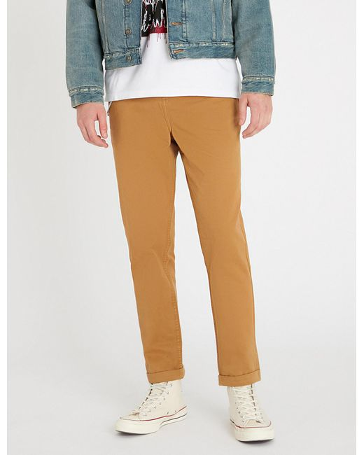 The Kooples - Multicolor Chain-detail Slim-fit Cotton Skinny Trousers for Men - Lyst