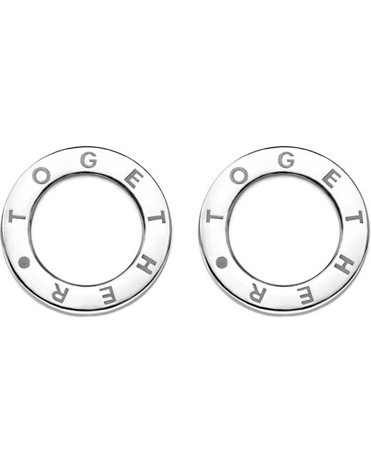 Thomas Sabo - Metallic Together Sterling Silver Earrings - Lyst
