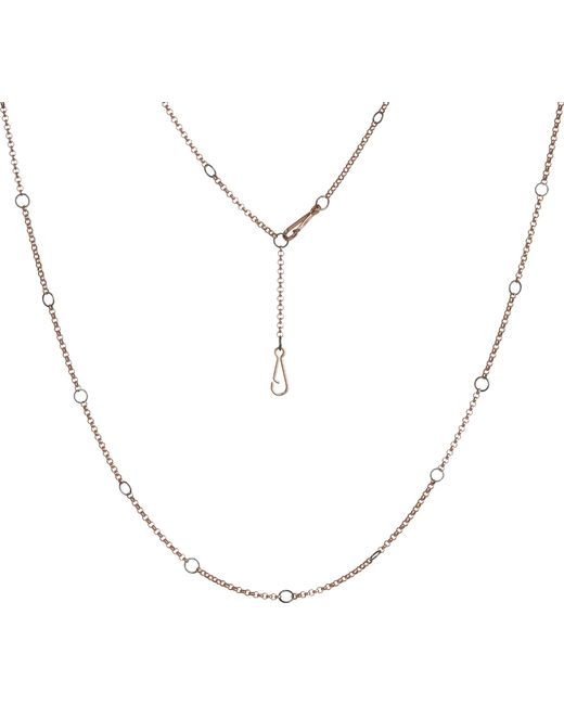 Annoushka | Metallic Hoopla 18ct Rose-gold Chain | Lyst