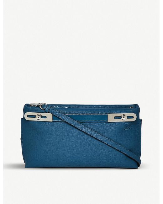 Loewe - Blue Missy Small Leather Bag - Lyst