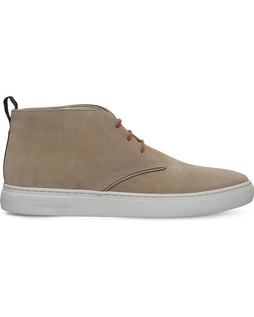 Paul Smith | Natural Fong Suede Chukka Boots for Men | Lyst