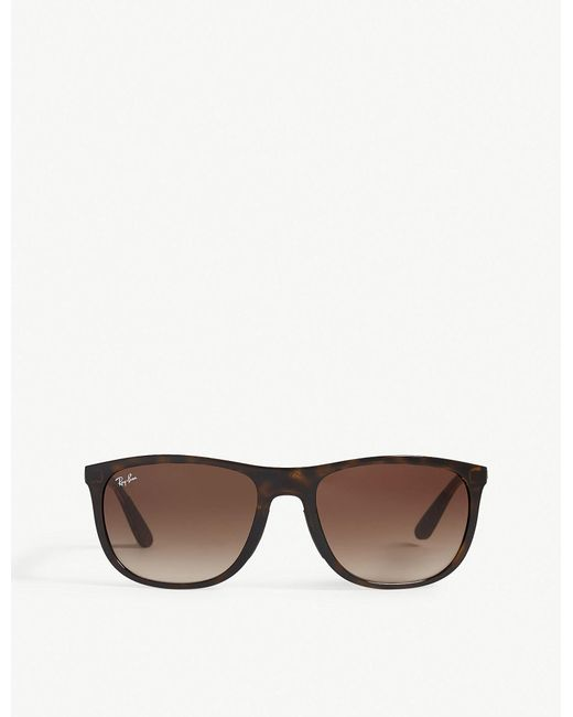 917fa27e20d Lyst - Ray-Ban Rb4291 Square-frame Sunglasses in Brown for Men