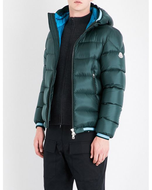 Moncler | Green Jeanbart Quilted Shell Jacket for Men | Lyst