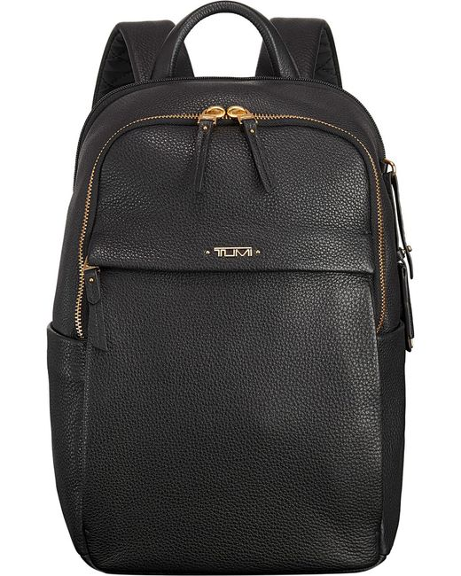 Tumi | Black Daniella Limited Edition Small Leather Backpack | Lyst