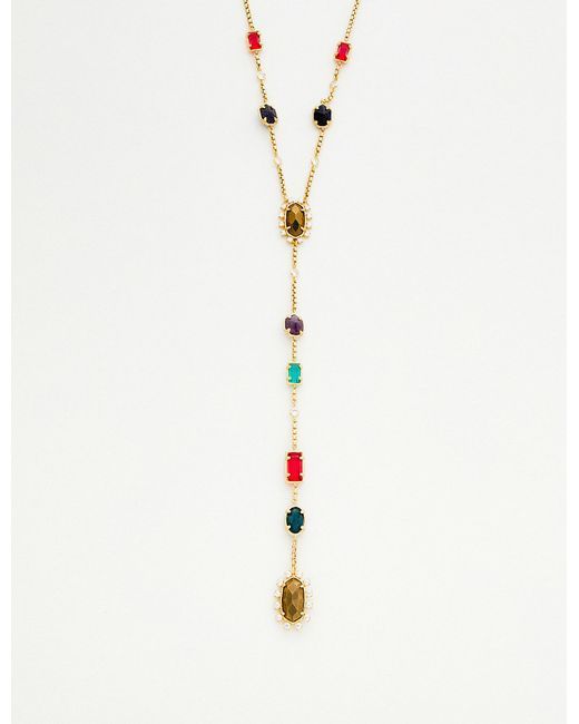 Kendra Scott - Multicolor Liesl Plated Brass - Lyst