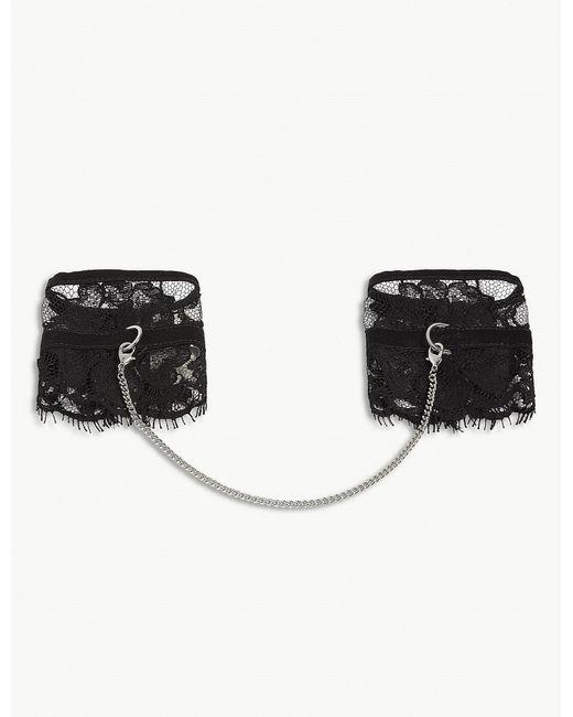 Fleur du Mal   Black Lace Hand Cuffs   Lyst