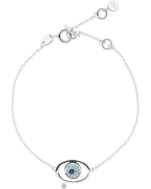 Links of London | Metallic Evil Eye Sterling-silver Bracelet | Lyst
