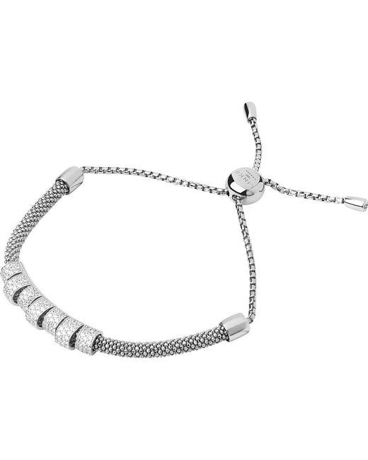 Links of London | Metallic Starlight Sterling Silver And Sapphire Coronet Bracelet | Lyst