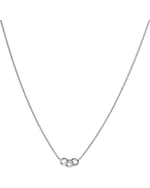 Links of London   Metallic Mini Signature Silver Necklace   Lyst