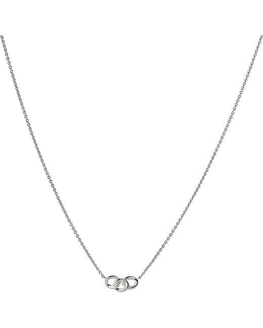 Links of London | Metallic Mini Signature Silver Necklace | Lyst