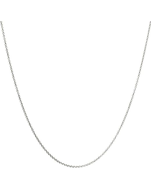 Links of London | Metallic 18ct White Gold Cable Chain | Lyst