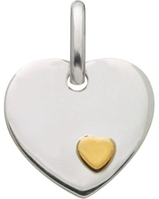Links of London | Metallic Heart Disc Charm | Lyst