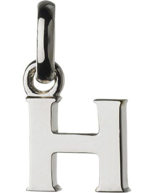 Links of London   Metallic Alphabet H Sterling Silver Charm   Lyst
