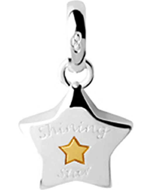 Links of London | Metallic Shining Star Sterling-silver Charm | Lyst