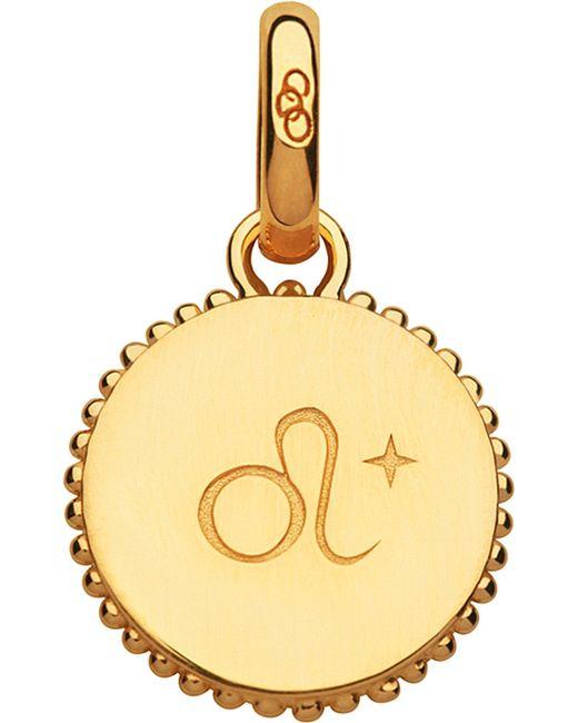 Links of London | Leo 18ct Yellow-gold Vermeil Zodiac Charm | Lyst