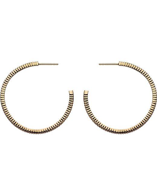 Links of London   Metallic Sweetie Signature 18ct Gold Earrings Hoop Earrings   Lyst