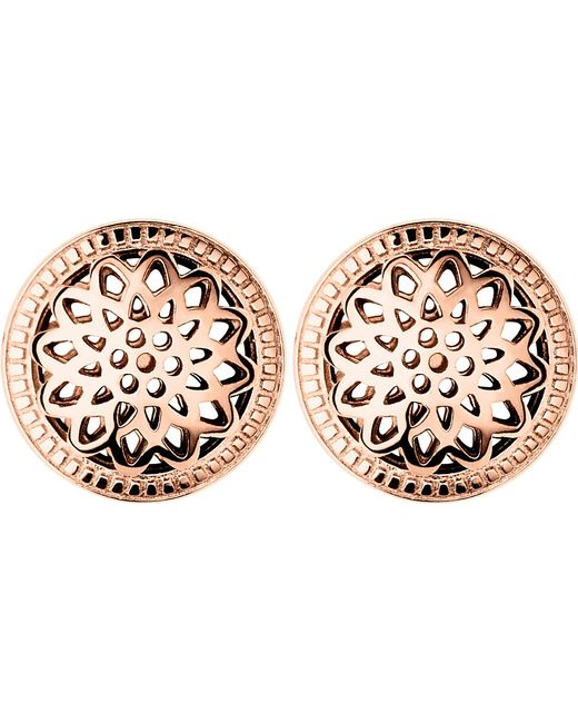 Links of London | Pink Timeless 18ct Rose-gold Vermeil Stud Earrings | Lyst
