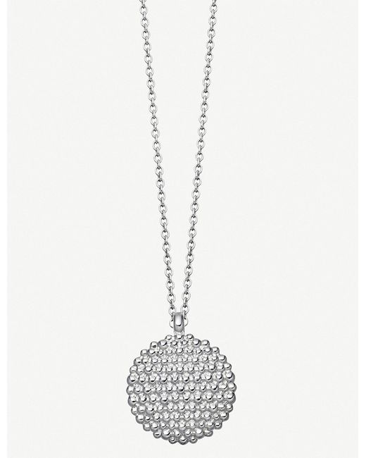 Astley Clarke - Metallic Floris Mille Sterling Silver Necklace - Lyst